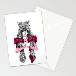 Runs with Wolves Stationery Cards