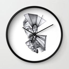 Hombres de piedra Wall Clock