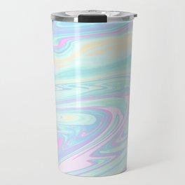 Bubblegum Marble Travel Mug