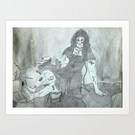pincushion world Art Print