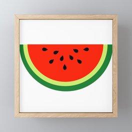 Tasty Watermelon Framed Mini Art Print