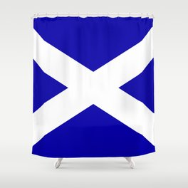 Scottish Flag Shower Curtain