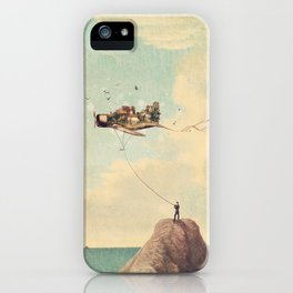 City Kite Afternoon iPhone Case
