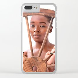 Roll With It Clear iPhone Case