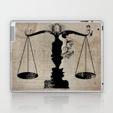 Weigh your Justice  Laptop & iPad Skin