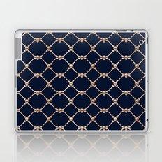 Skulls & Bones Diamond Pattern Laptop & iPad Skin