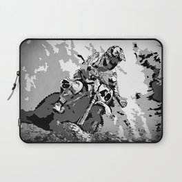 Motocross Dirt-Bike Championship Racer Laptop Sleeve