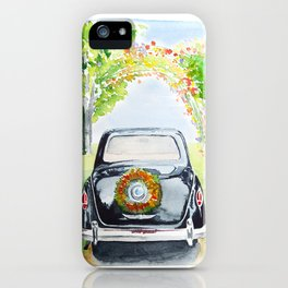 Retro car iPhone Case