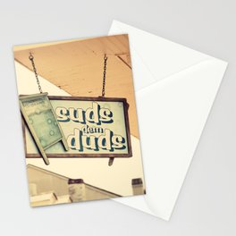 Suds dem Duds Stationery Cards