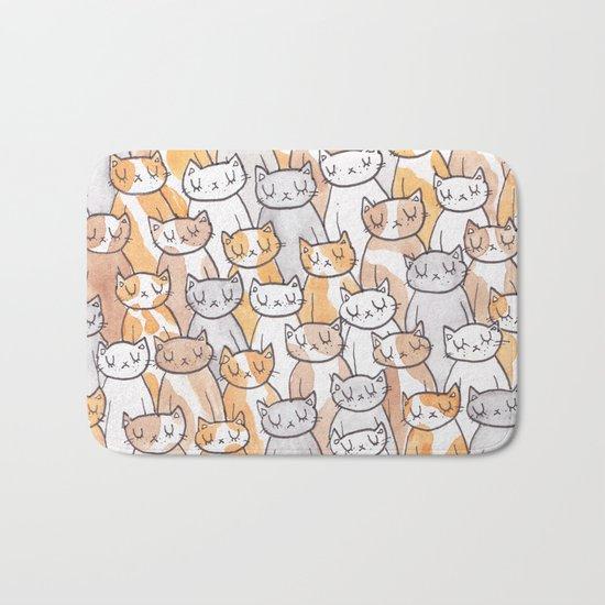 Sleepy Cats Bath Mat