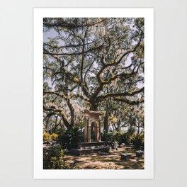 Bonaventure Cemetery - Savannah, Georgia III Art Print