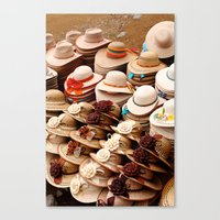 hats Canvas Prints featuring Hats by Dave Houldershaw