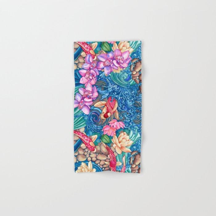 Orchid Splash Hand & Bath Towel