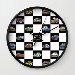 Crazy Car Art 0158 Wall Clock