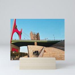 La Salve bridge in Basque country, Spain Mini Art Print