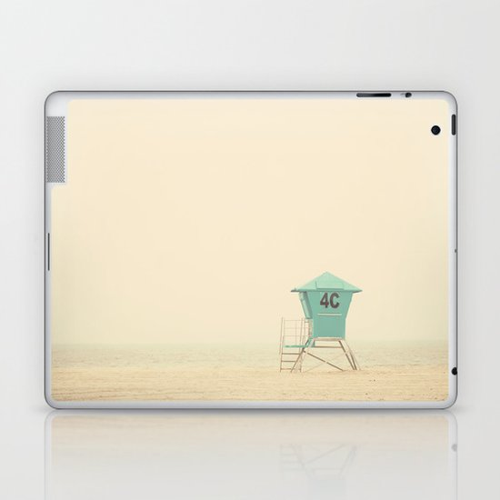 the sound of outer ocean on a beach ... Laptop & iPad Skin