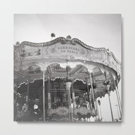 Carousel de Paris Metal Print