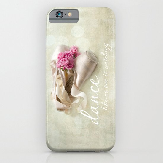 dance like no one is watching iPhone & iPod Case