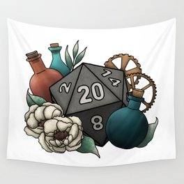 Artificer Class D20 - Tabletop Gaming Dice Wall Tapestry