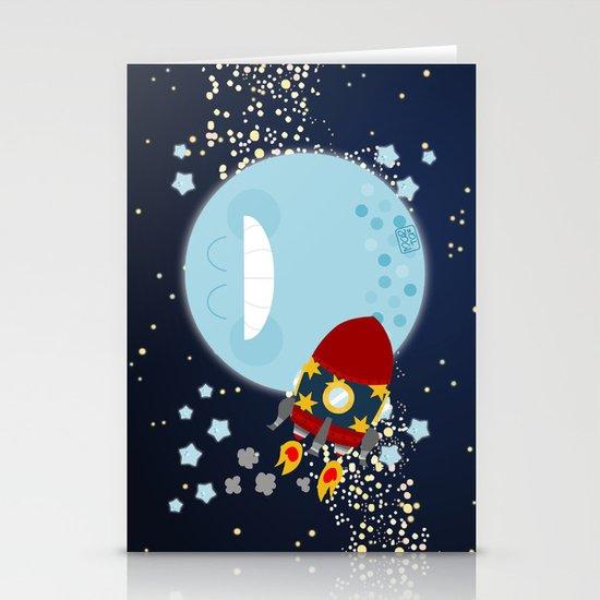 Le Voyage dans la Lune Stationery Cards