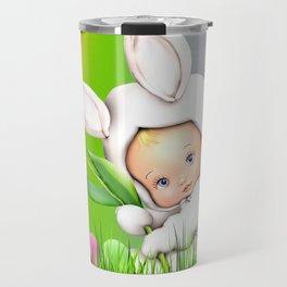Easter Lawn Celebration Travel Mug