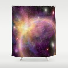 Nebula VI Shower Curtain