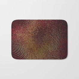Warm Ruby Mist Bath Mat