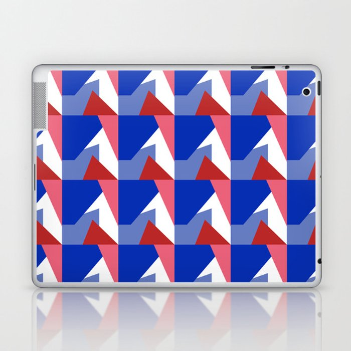 El Blue Cruce Laptop & iPad Skin