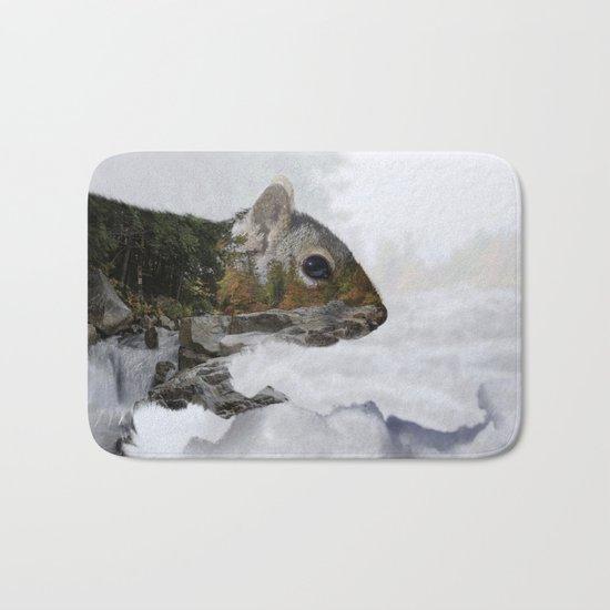 Waterfall Squirrel Bath Mat