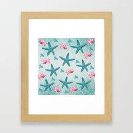 Starfish Wishes Framed Art Print