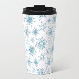 Snowflakes. Travel Mug