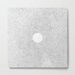 turbulence: zen Metal Print