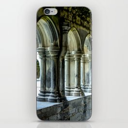 Askeaton Castle Cloisters iPhone Skin