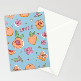Just Peachy! Stationery Cards
