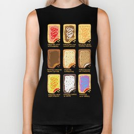 Pop Tart Pop Art Biker Tank