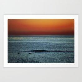 The Last Wave Art Print