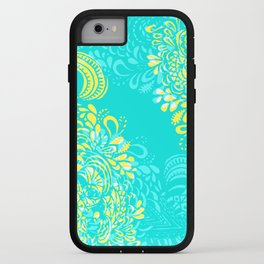 Thinking - 2 colour zest iPhone Case