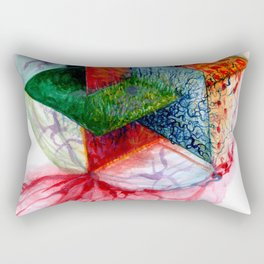 Parallel worlds Rectangular Pillow