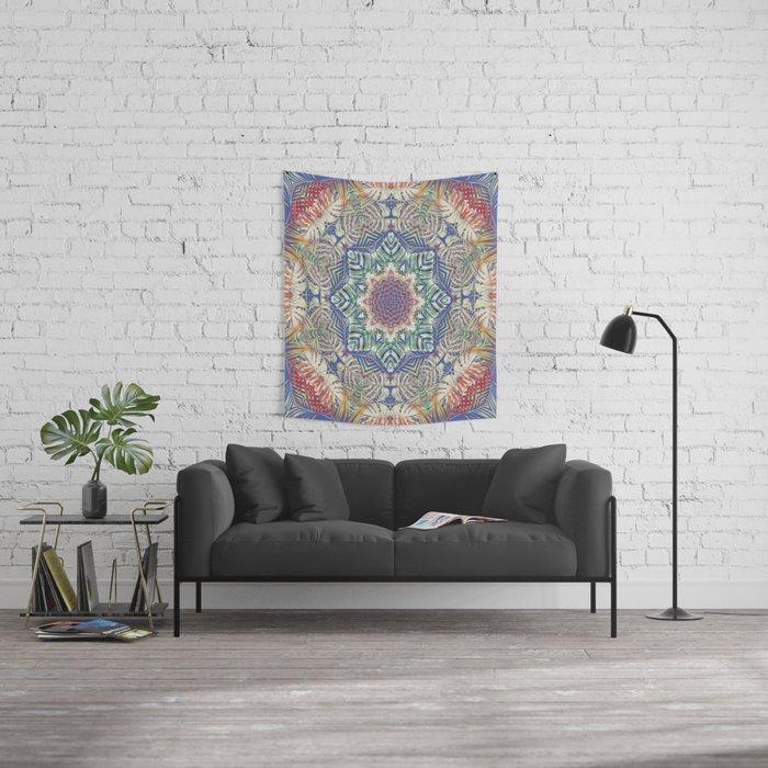 Jungle Kaleidoscope Wall Tapestry
