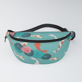 KOI AND LILY PADS Fanny Pack