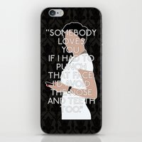 scandal iPhone & iPod Skins featuring A Scandal in Belgravia - Irene Adler by MacGuffin Designs