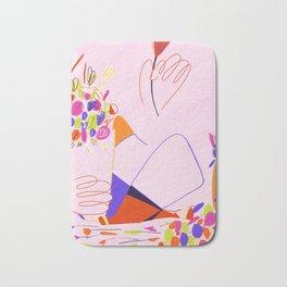 Flower vendor Bath Mat