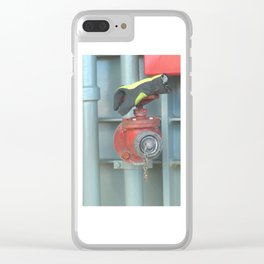 Invisible man? Clear iPhone Case