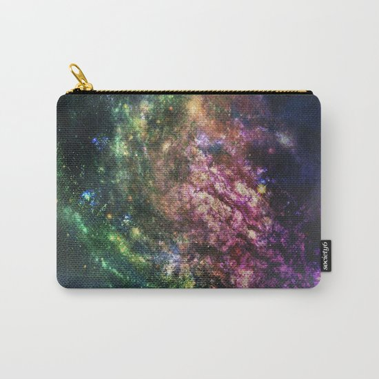 Rainbow Nebula Carry-All Pouch