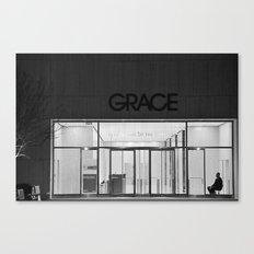 Contemplating Grace Canvas Print