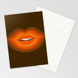 Pop Lips - Golden Stationery Cards