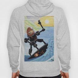 Dieruma Robot Surfer Hoody