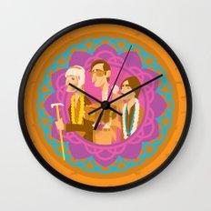 The Darjeerling Limited Wall Clock