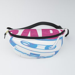 Cassette & Pen Retro Throwback Baby You Wind Me Up Graphic print Fanny Pack