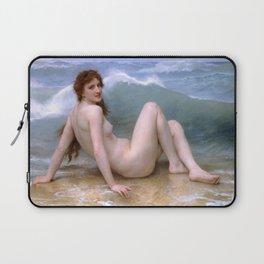 """William-Adolphe Bouguereau """"The Wave"""" Laptop Sleeve"""